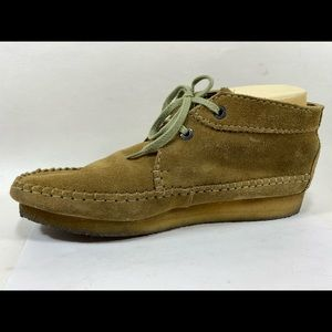 Clarks Shoes - Clarks Originals Leather Chukka Boots Mens 10.5M